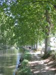 Canal du Midi bei Capestang